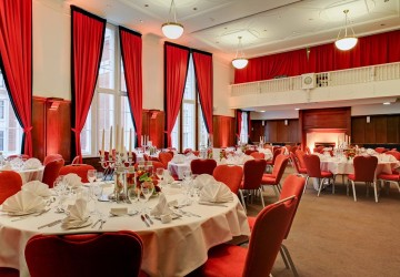 Hallam Council Chamber, fine dining