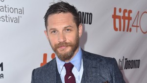"""TORONTO, ON - SEPTEMBER 12: Actor Tom Hardy attends the """"Legend"""" premiere during the 2015 Toronto International Film Festival at Roy Thomson Hall on September 12, 2015 in Toronto, Canada. (Photo by Alberto E. Rodriguez/Getty Images)"""