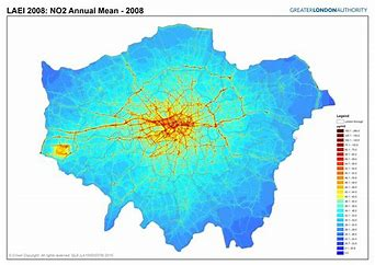 polluted london
