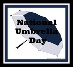 It's National Umbrella Day – Book today and we will send you an umbrella or £45.00 to UNICEF